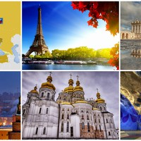 Európa legnagyobb országainak fővárosai testközelből