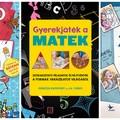 Három kiváló kötet, amelyek segítenek játszva tanulni matematikát, kémiát, fizikát és történelmet