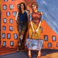 A művész, aki embereket változtat festménnyé