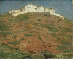 William Nicholson: Andalucian Homestead (1935)