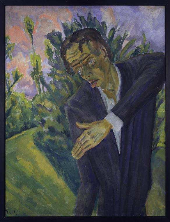 Erich Heckel: Roquairol (1917)