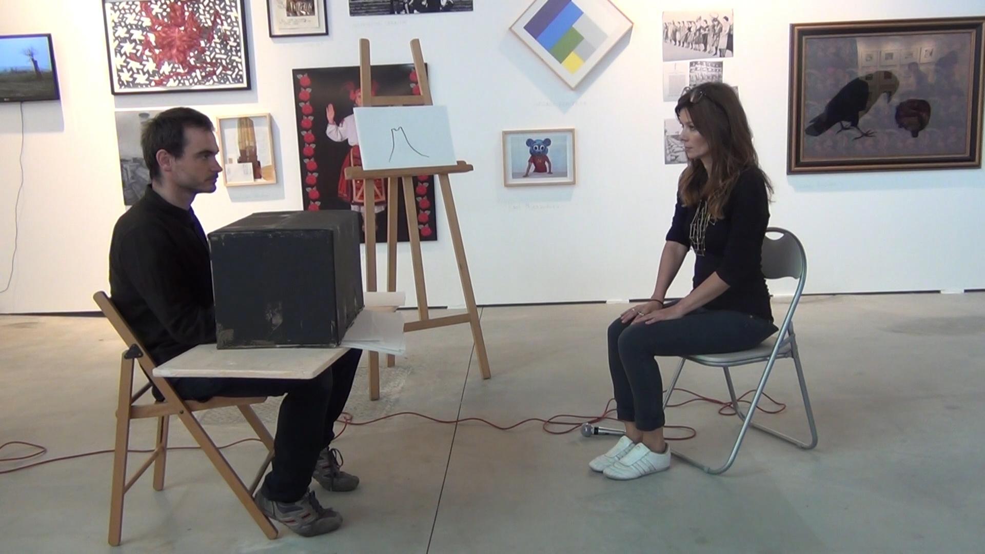 Az artist talk Bécsben