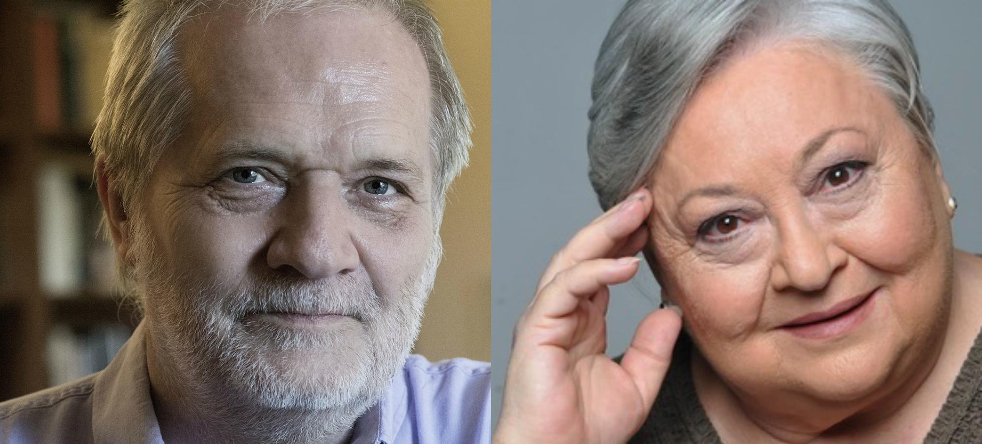 Eötvös Péter és Molnár Piroska