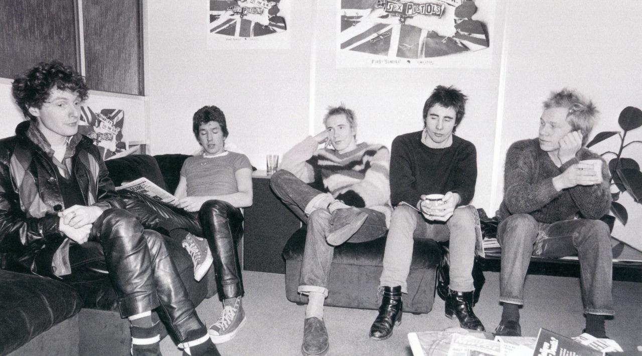 Malcolm Mclaren és a Sex Pistols