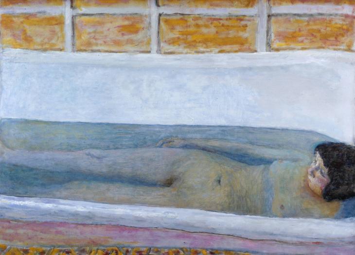 Pierre Bonnard: A fürdő (1925)