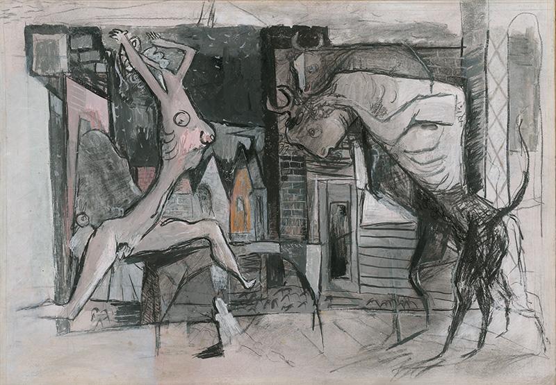 Koloman Sokol: Extázisban – Bikák, 1946, Szlovák Nemzeti Galéria