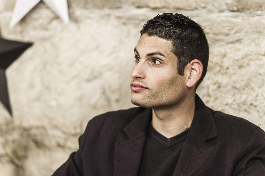A könyv egyik szereplője, Lakatos Attila. Fotó:Kalocsai Richárd