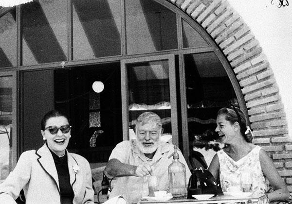 Hemingway Caorlében