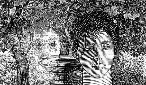 Orosz István grafikája