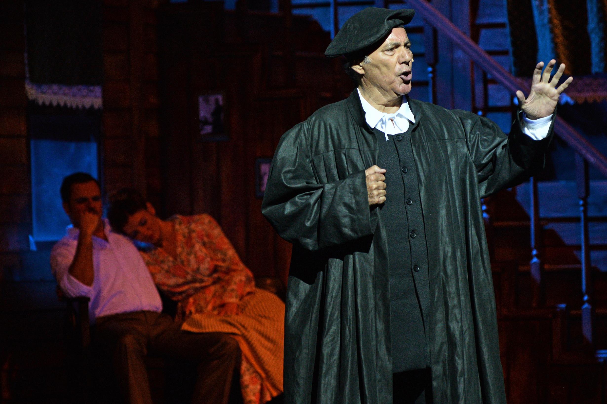 Luther szerepében Kovács István (Fotó: Bartók Plusz Operafesztivál – Éder Vera)