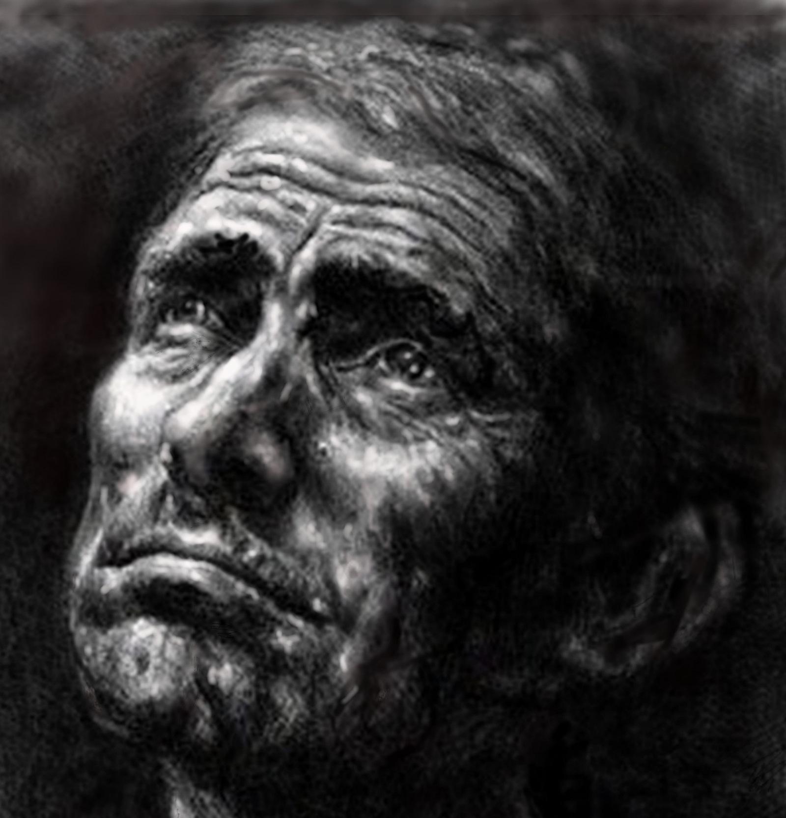 A kép alkotója: Dvorcsak Gábor (otthontalan művész.)