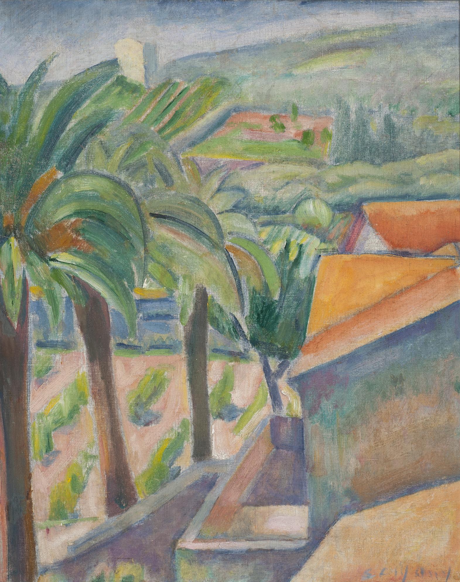 Czigány Dezső (1883-1937): Provence-i táj