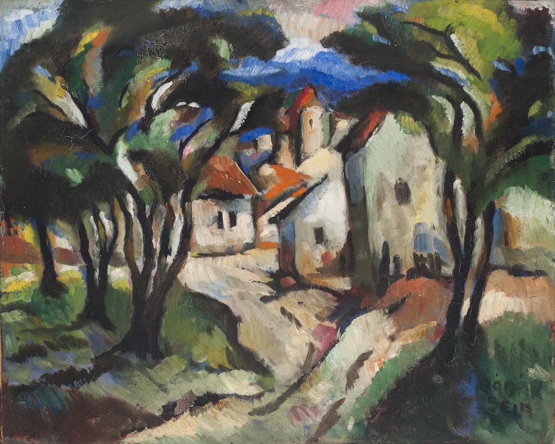 Kádár Béla (1877-1956): Kék táj