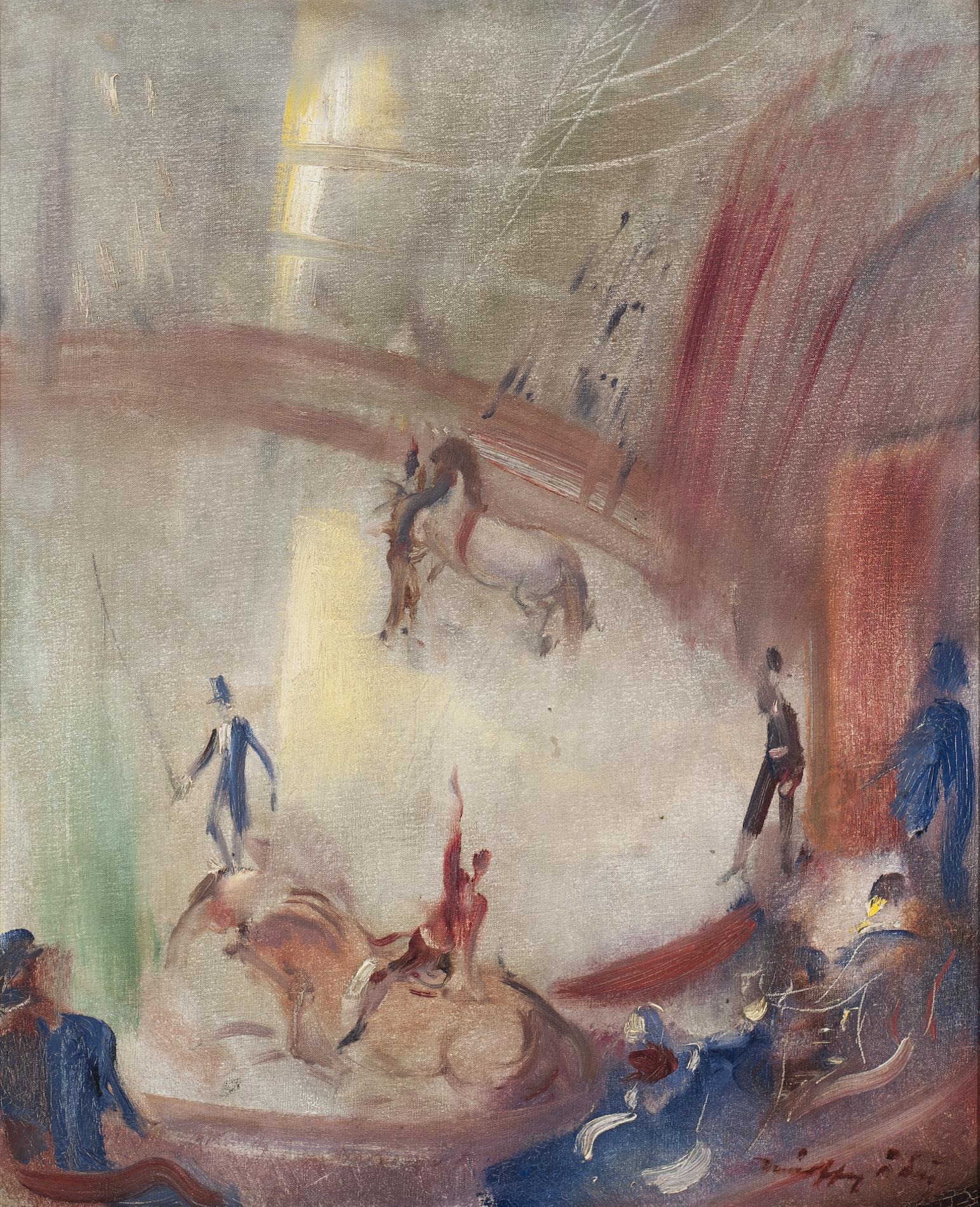 Márffy Ödön (1878-1959): Cirkusz
