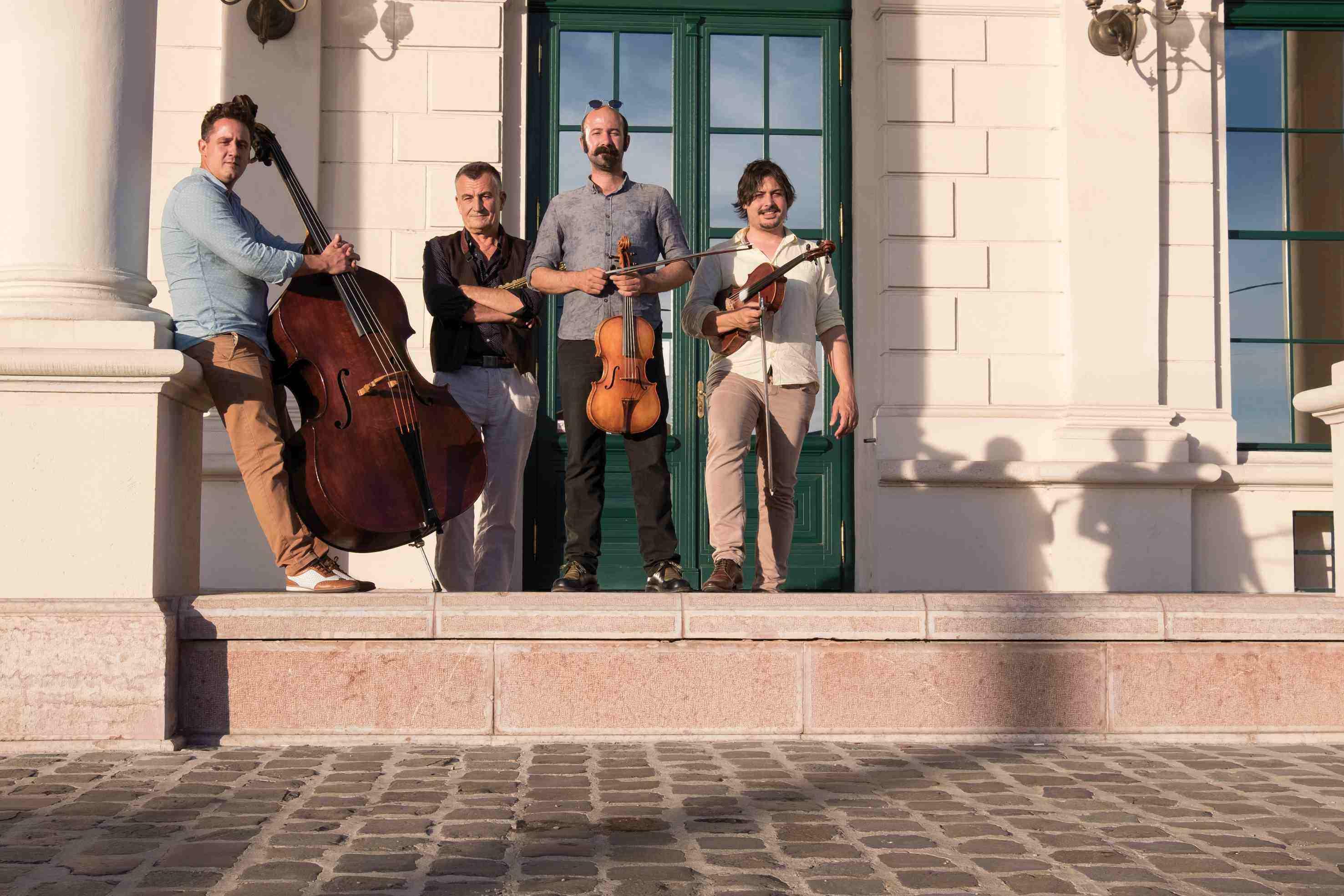 A Dresch vonós quartet