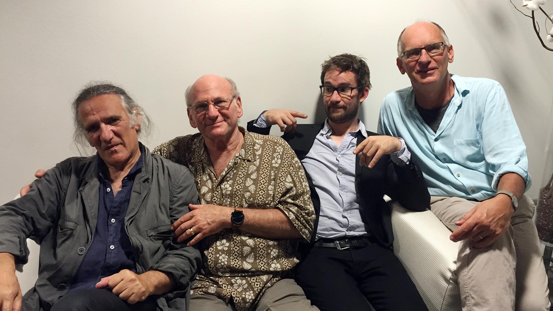 Jean-Paul Celea, Dave Liebman, Emile Parisien és Wolfgang Reisinger