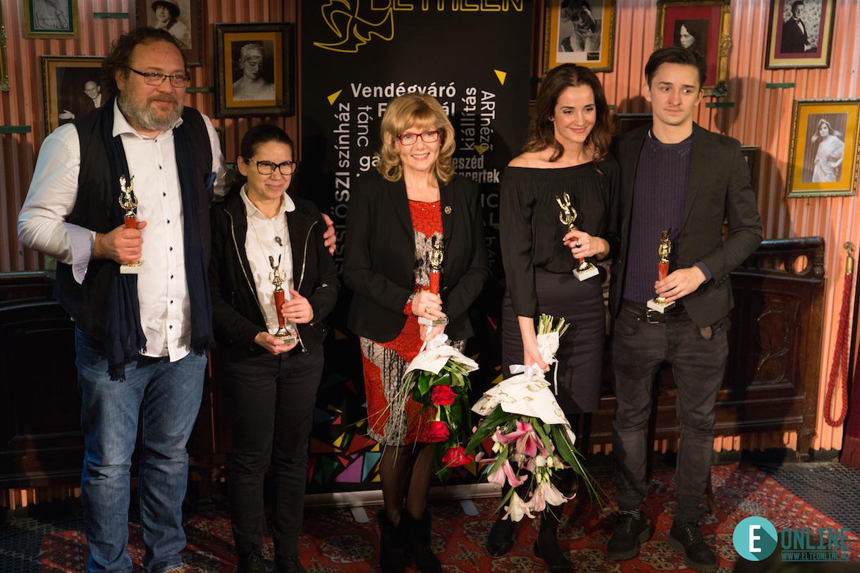 A díjazottak – Fotó: ELTE online