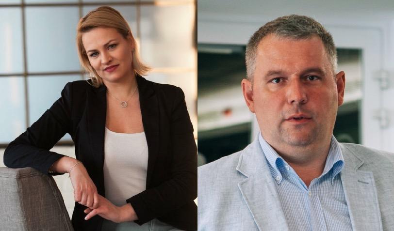 van der Wildt Nikolettmarketing igazgató és Dr. Szabó Balázs a vállalati kapcsolatok igazgatója