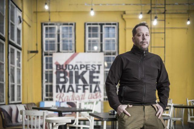 Havasi Zoltán, a Budapest Bike Maffia alapítója. – Fotó: forbes.hu
