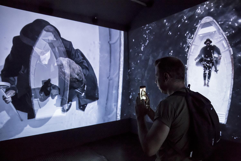 Mohau modisakeng kiállításán