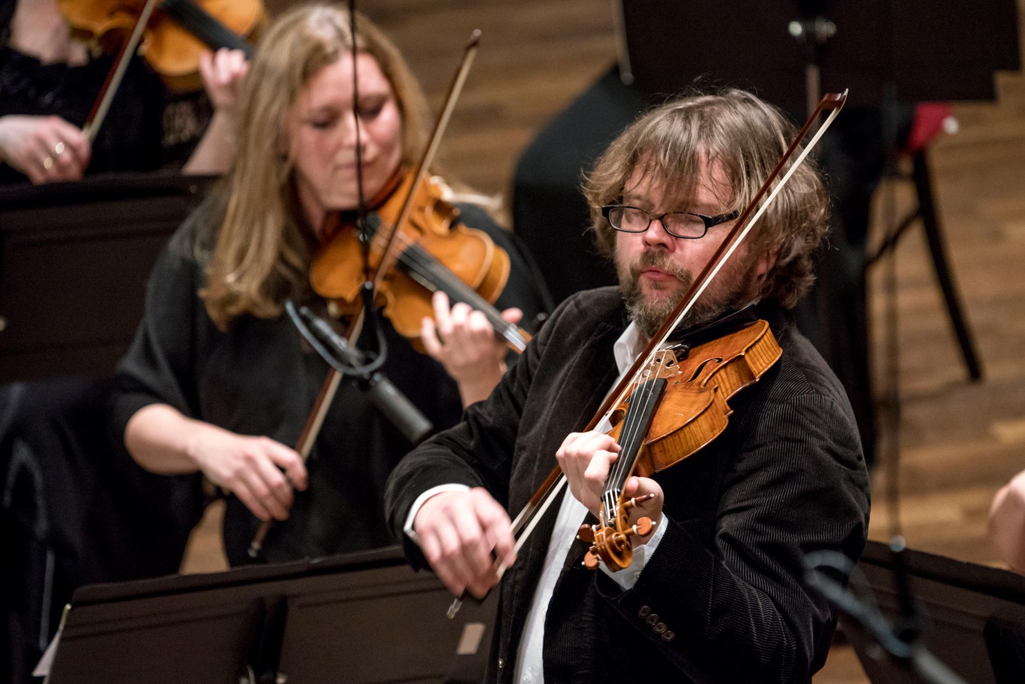 A harmadik nyáresti koncert koncertmestere: Alexander Janiczek
