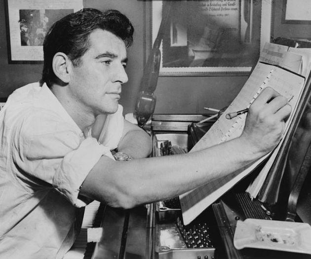 Leonard Bernstein 1955-ben