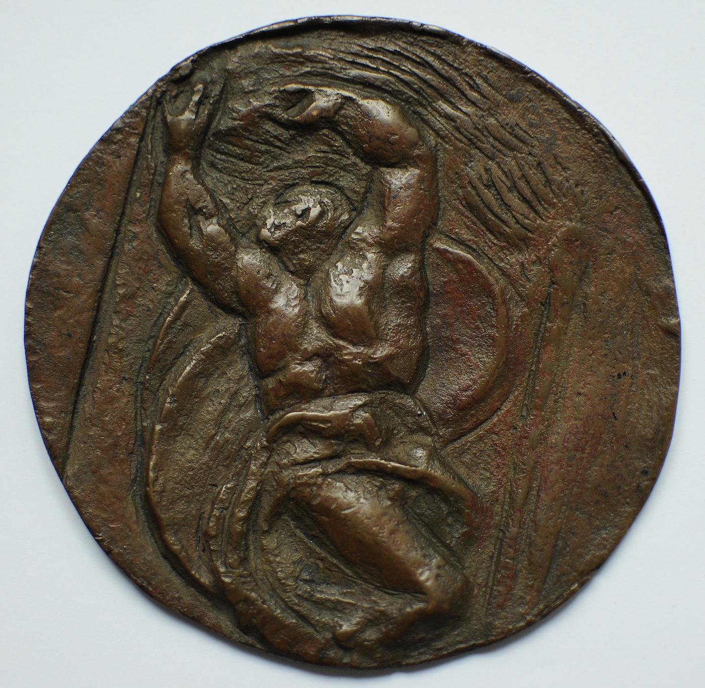 Michelangelo (hátlap), 1934, A Ferenczy Család Művészeti Alapítvány tulajdona