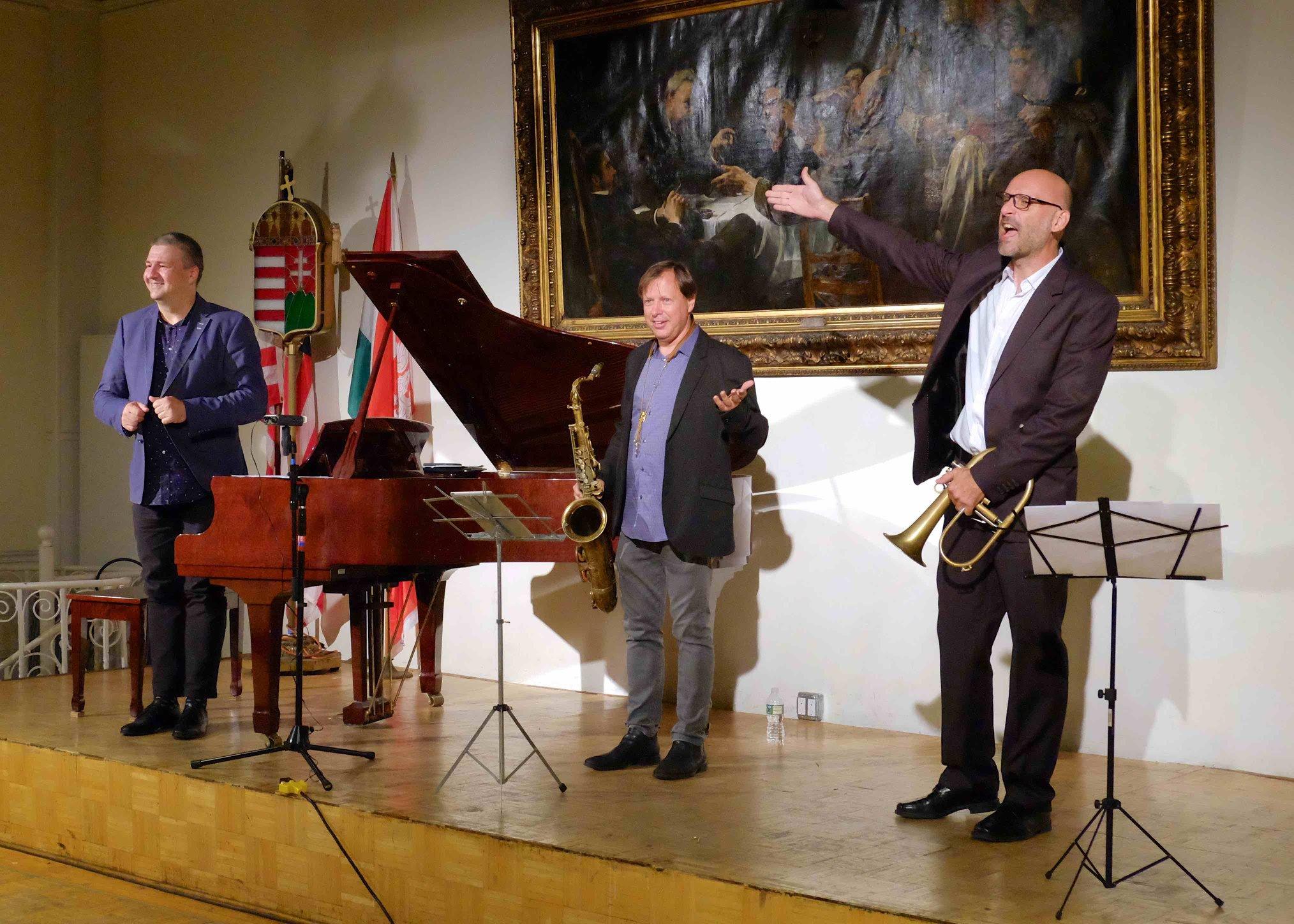 Kuba Stankiewicz, Chris Potter és Fekete-Kovács Kornél