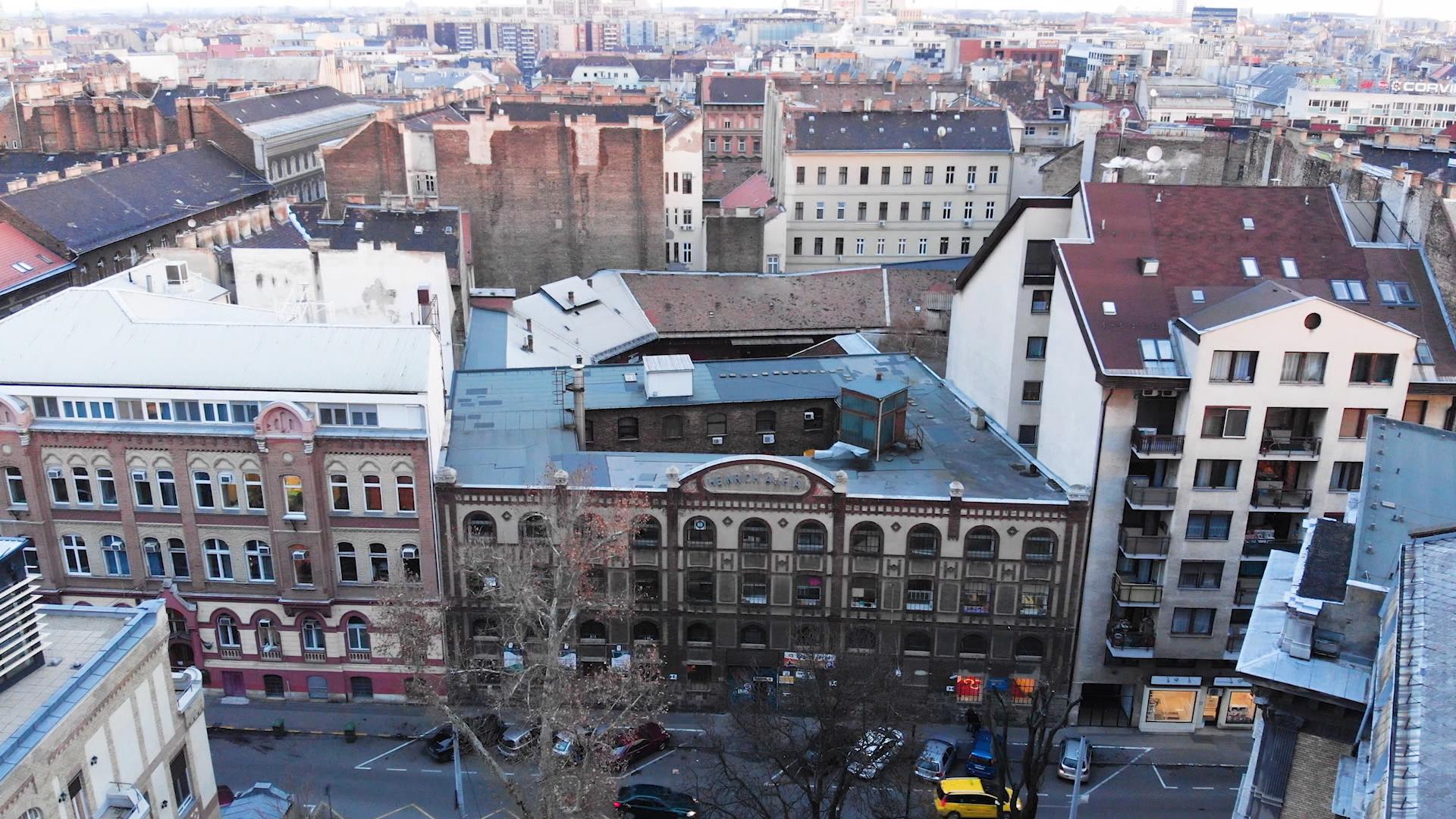 A Sándy Gyula által épített Heinrich raktár
