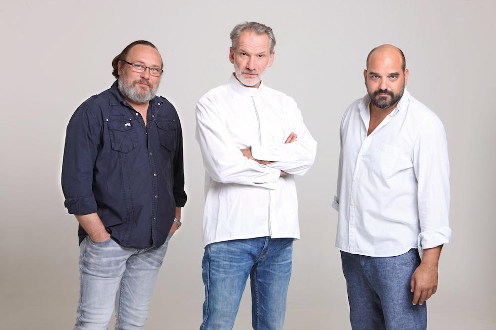 Schneider Zoltán, László Zsolt és Pál András – Fotó: Falus Kriszta