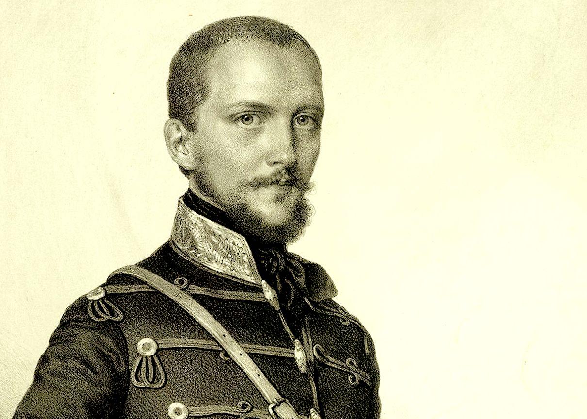 Görgei_Artúr – Barabás Miklós_metszete, 1849