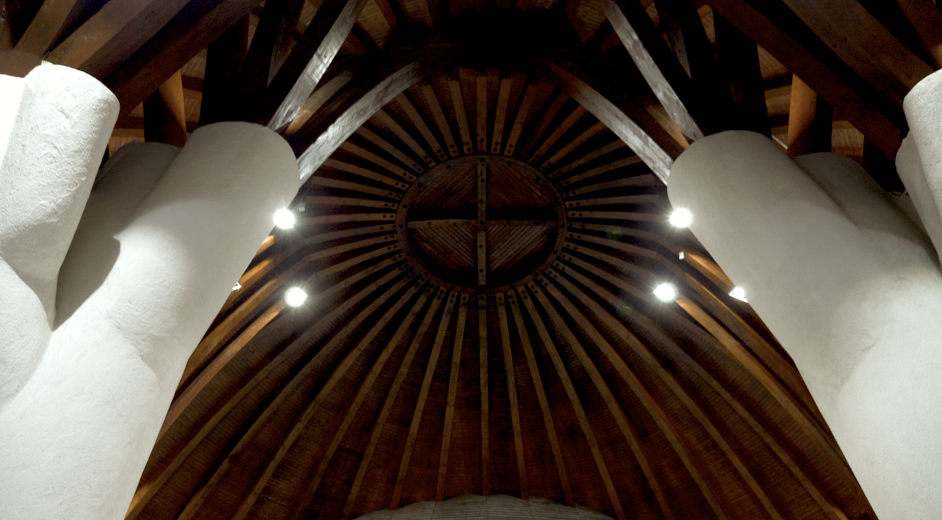 A Vigadó kupolája belülről