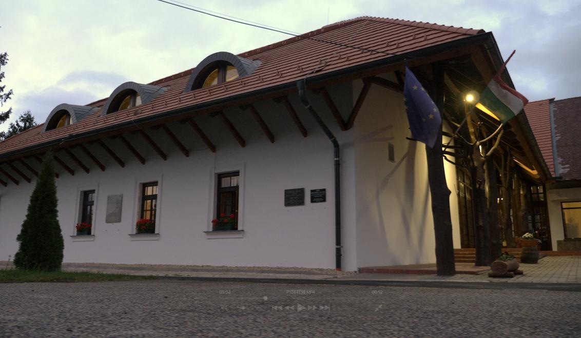 A zalaszentmihályi felújított faluház
