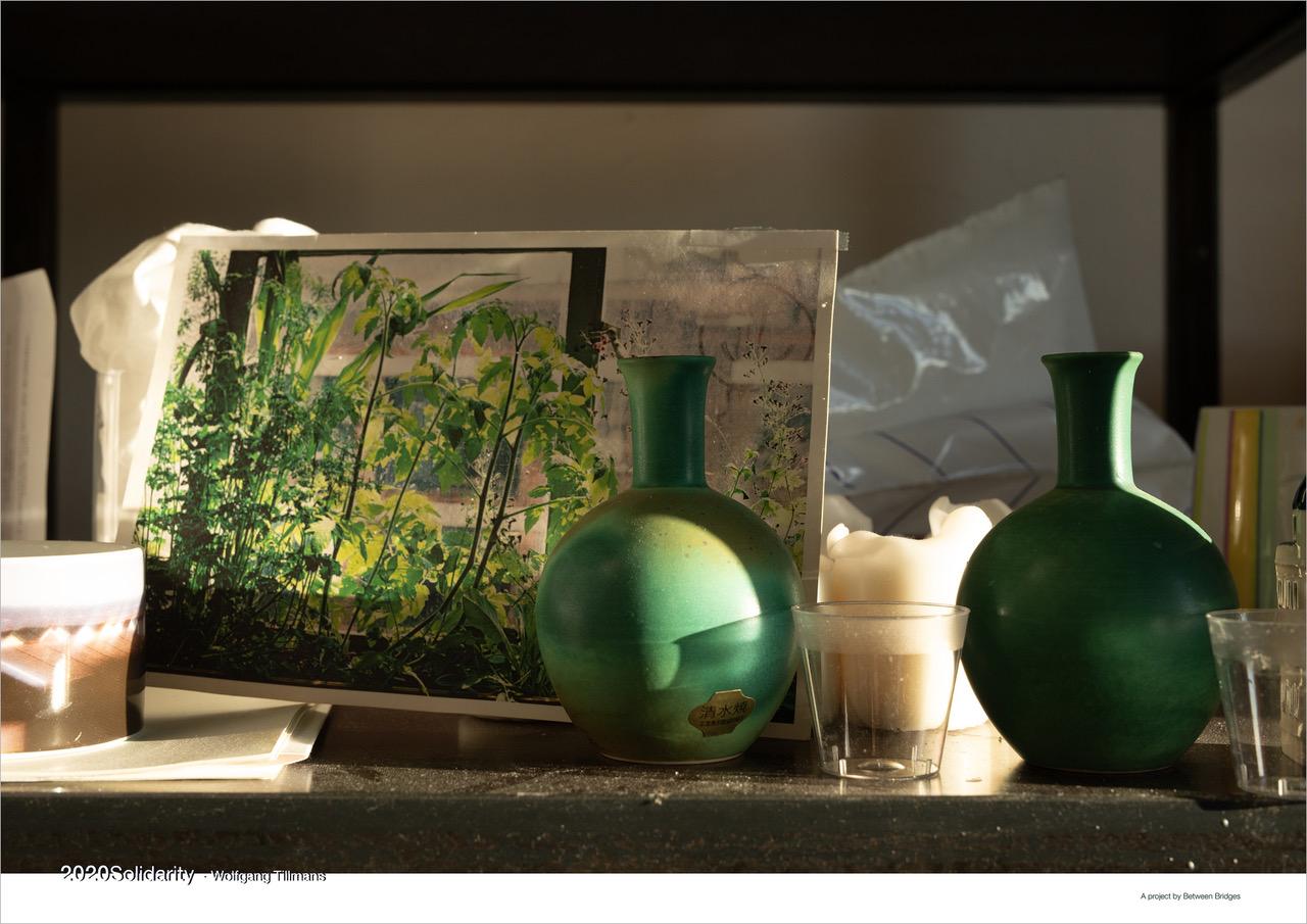 Wolfgang Tillmans: 'still life (Bühnenbild)' 2020, Offset print on paper, 42 cm x 59,4 cm (16.5 x 23.4 in)