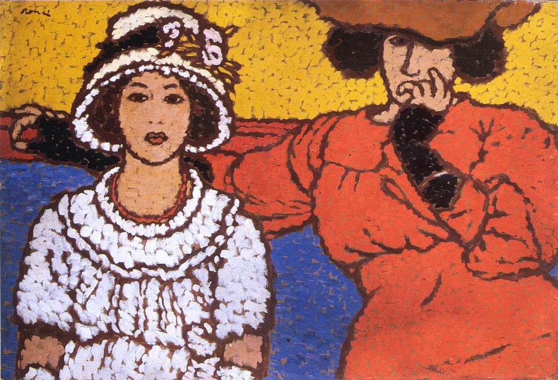 Rippl-Rónai József: Lazarine and Anella