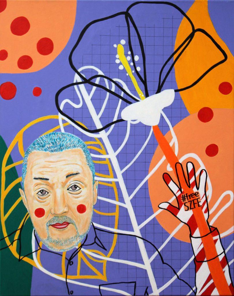Vidnyánszky Attila kiáll az SZFE mellett és az autonómiájáért tüntet Matisse műtermében