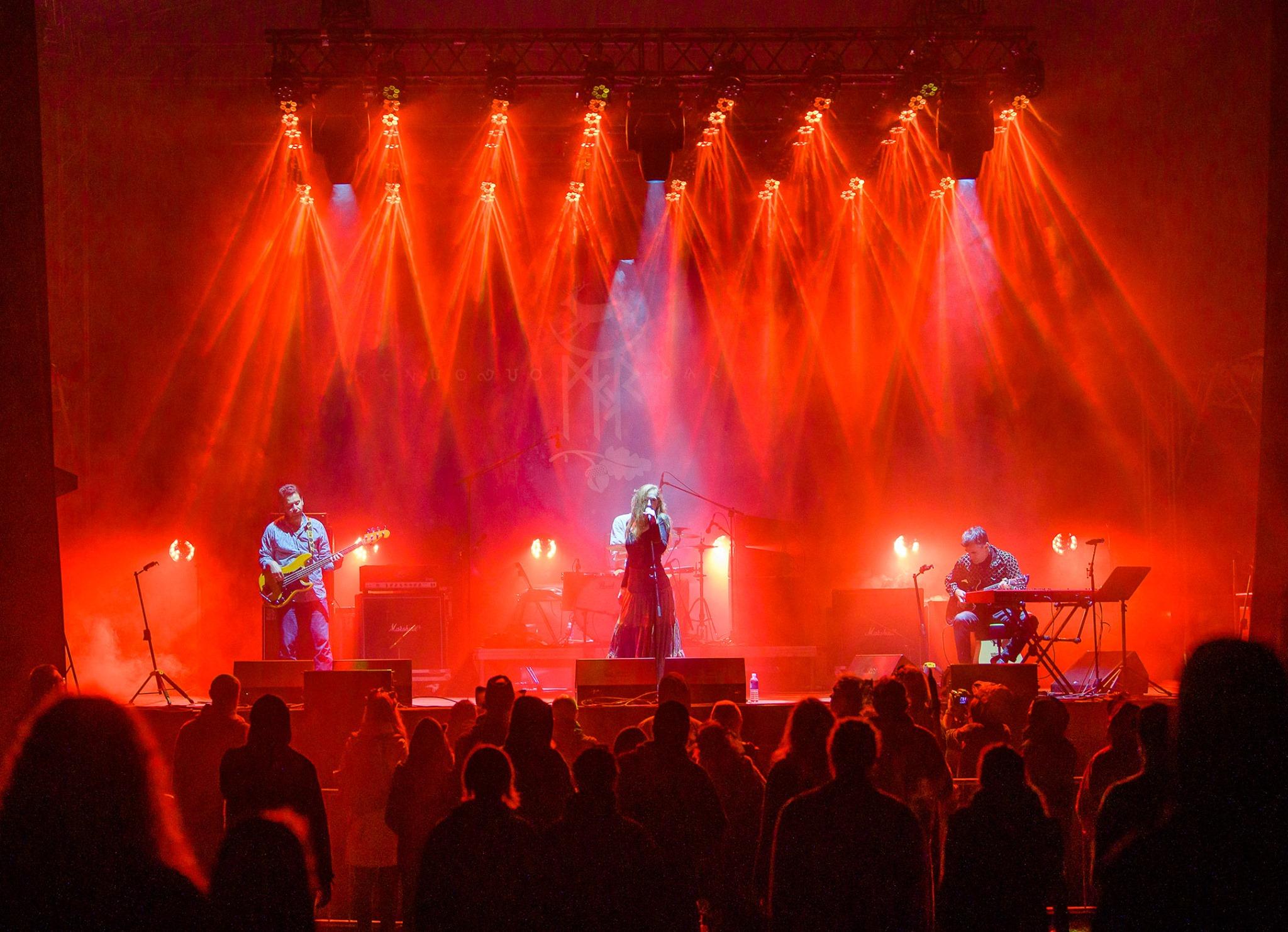 A zenekar a MJR Kaukynės XXI½ fesztiválon Litvániában – Fotó: Mantas Puida