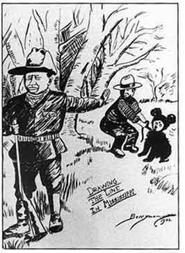 Clifford K. Berryman karikatúrája
