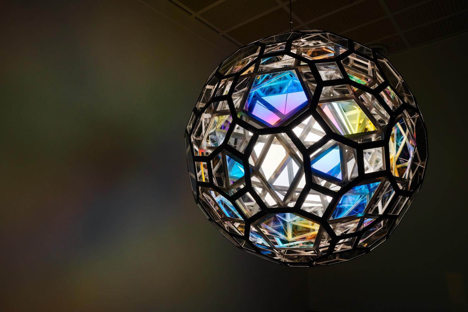 Weather orb (Időjárás gömb), 2020, Kunsthaus Zürich, Fotó: Franca Candrian