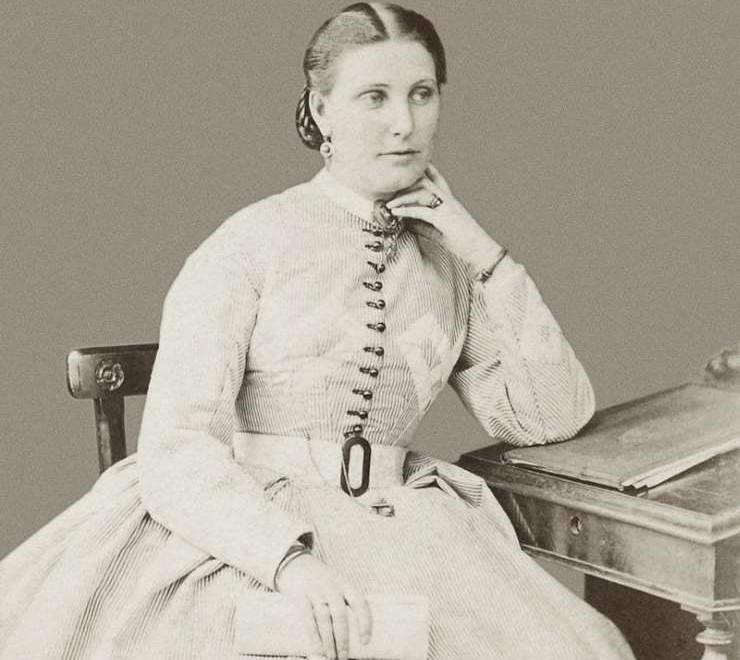 Lady Florence Baker az 1870-es évek vége felé