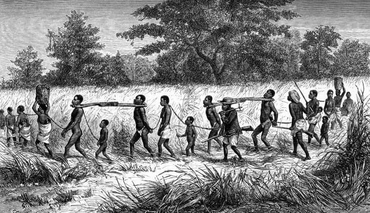 Nílus menti rabszolga-kereskedelem az 1800-as években