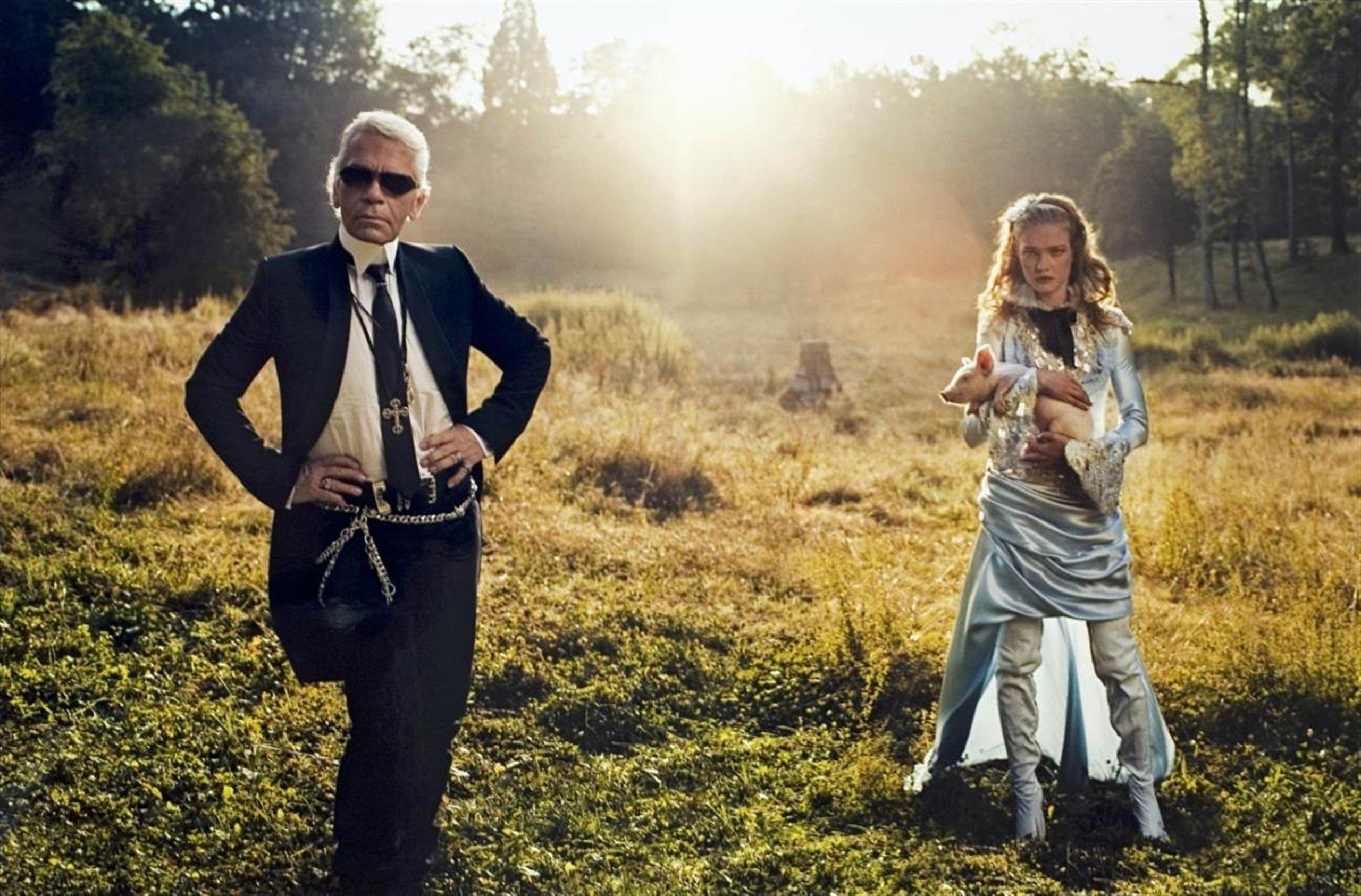 Annie Leibovitz híres fotósorozata a Vogue magazinban jelent meg