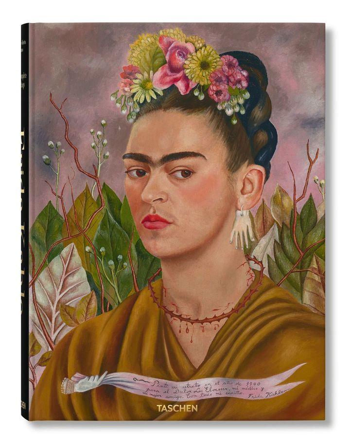 Frida Kahlo: The Complete Paintings (Credit: Taschen, eredeti fotó: www.bbc.com/culture)
