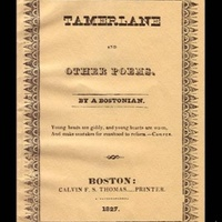Poe első kötetének egyik példánya kalapács alatt