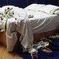 Múzeumba kerül Tracey ágya