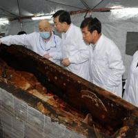 Ezerötszáz éves sírra bukkantak Kínában