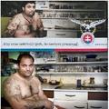 A roma férfi nem tudta, hogy rasszista plakáthoz fotózzák