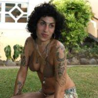 Amy Winehouse smink nélkül is jól néz ki