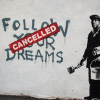 Banksy az amerikai Art Baselen