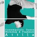 Kortárs tánc-workshop Bordás Attilával